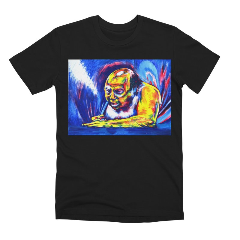 escape Men's Premium T-Shirt by paintings by Seamus Wray