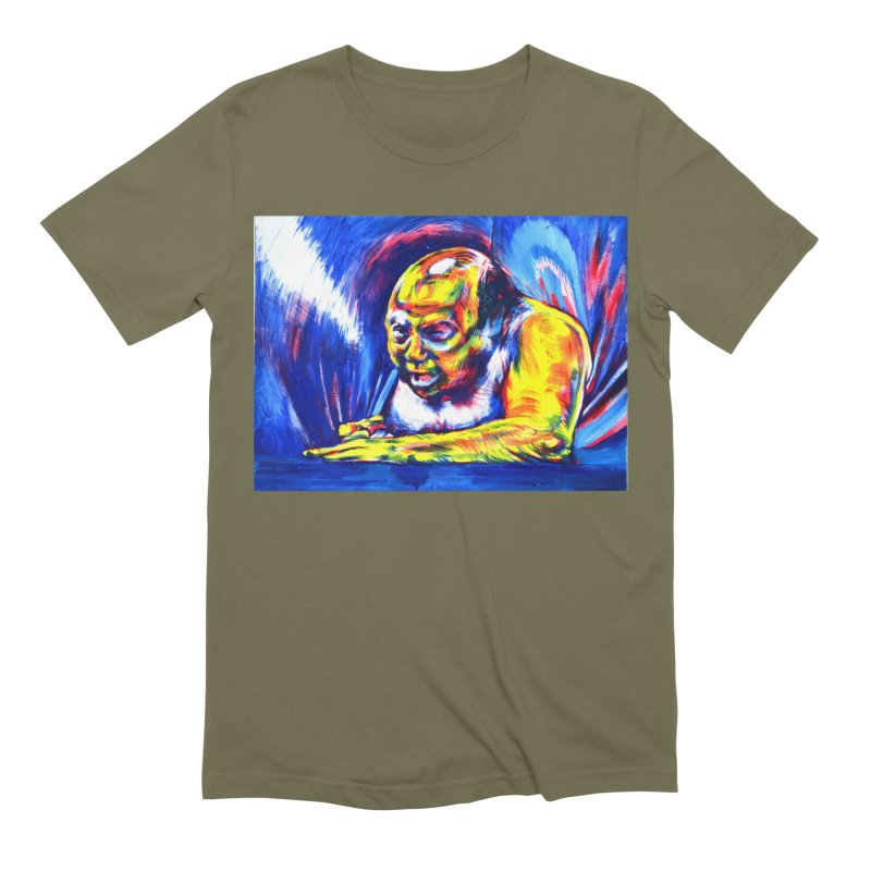 escape Men's Extra Soft T-Shirt by paintings by Seamus Wray