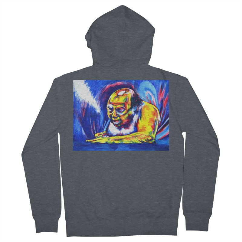 escape Men's French Terry Zip-Up Hoody by paintings by Seamus Wray
