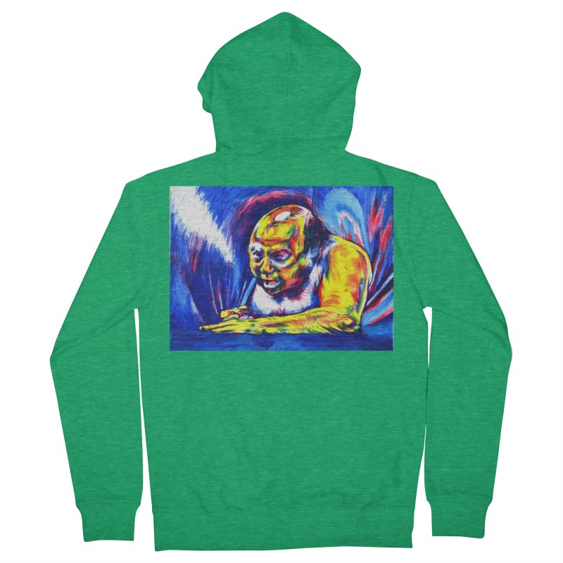 escape Men's Zip-Up Hoody by paintings by Seamus Wray