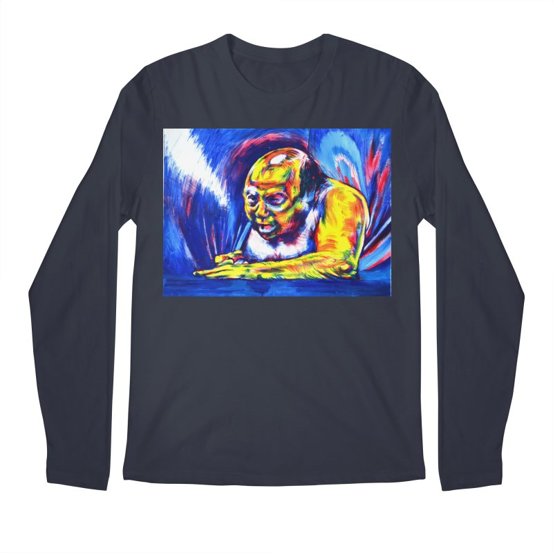 escape Men's Regular Longsleeve T-Shirt by paintings by Seamus Wray
