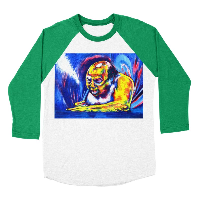 escape Women's Baseball Triblend Longsleeve T-Shirt by paintings by Seamus Wray