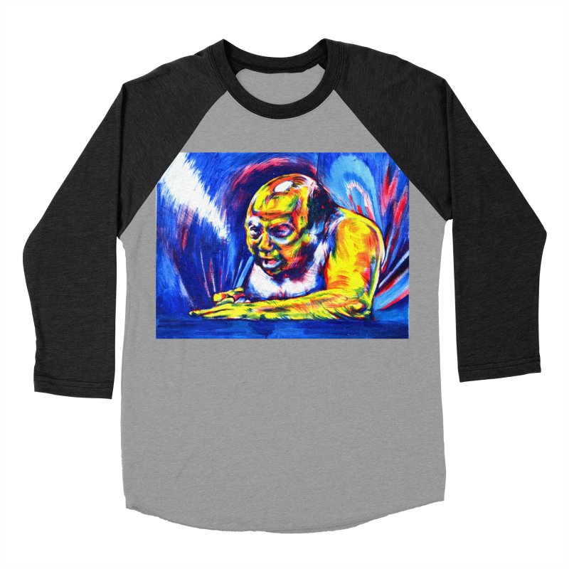 escape Men's Baseball Triblend Longsleeve T-Shirt by paintings by Seamus Wray