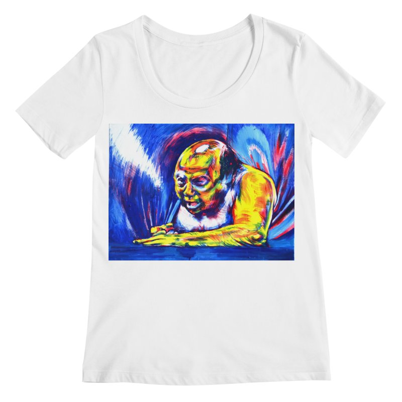 escape Women's Regular Scoop Neck by paintings by Seamus Wray