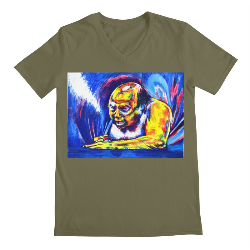 """escape Men's V-Neck by Art Prints by Seamus Wray available under """"Home"""""""