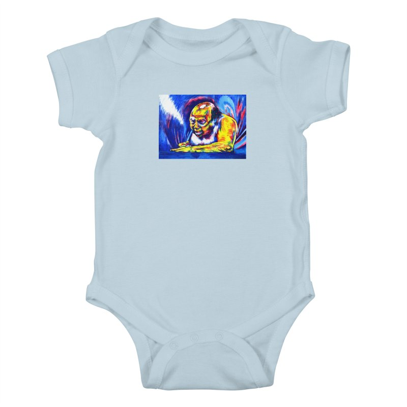 escape Kids Baby Bodysuit by paintings by Seamus Wray