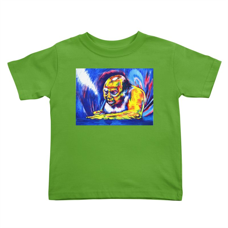 escape Kids Toddler T-Shirt by paintings by Seamus Wray