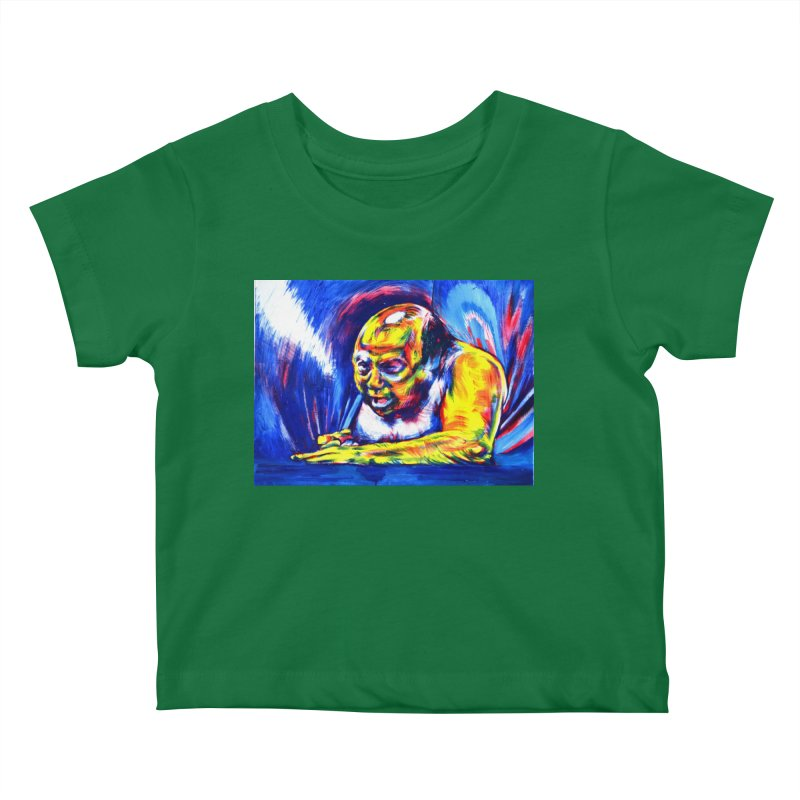 escape Kids Baby T-Shirt by paintings by Seamus Wray