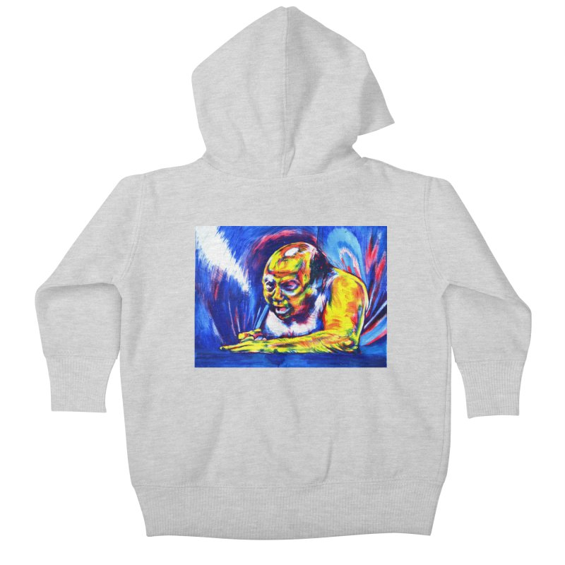 escape Kids Baby Zip-Up Hoody by paintings by Seamus Wray