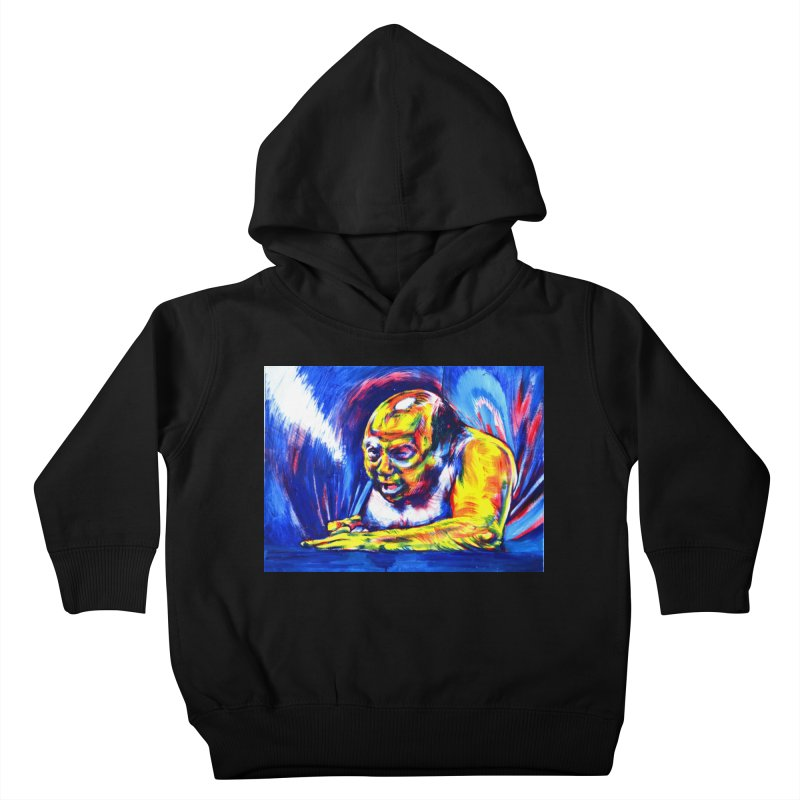 escape Kids Toddler Pullover Hoody by paintings by Seamus Wray