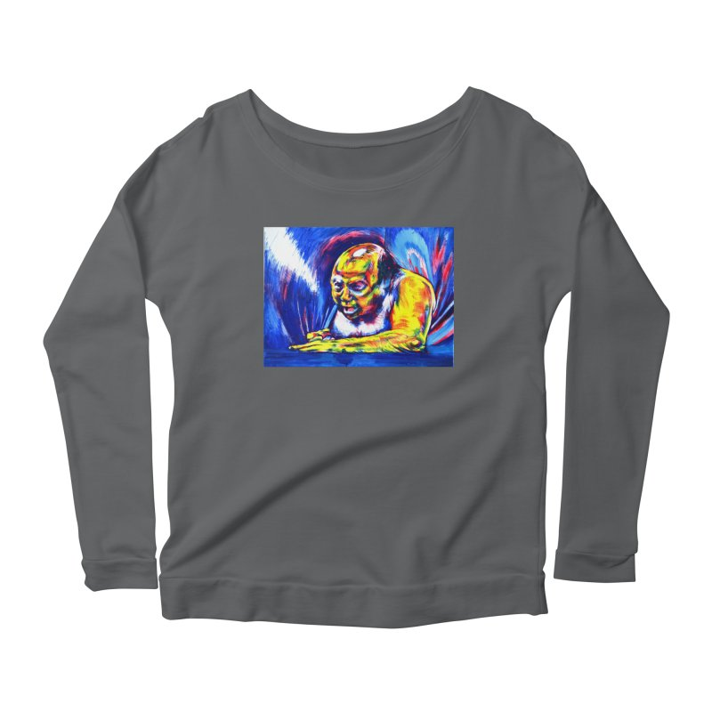 escape Women's Longsleeve T-Shirt by paintings by Seamus Wray