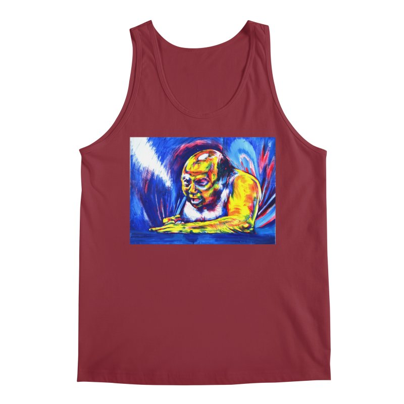 escape Men's Regular Tank by paintings by Seamus Wray