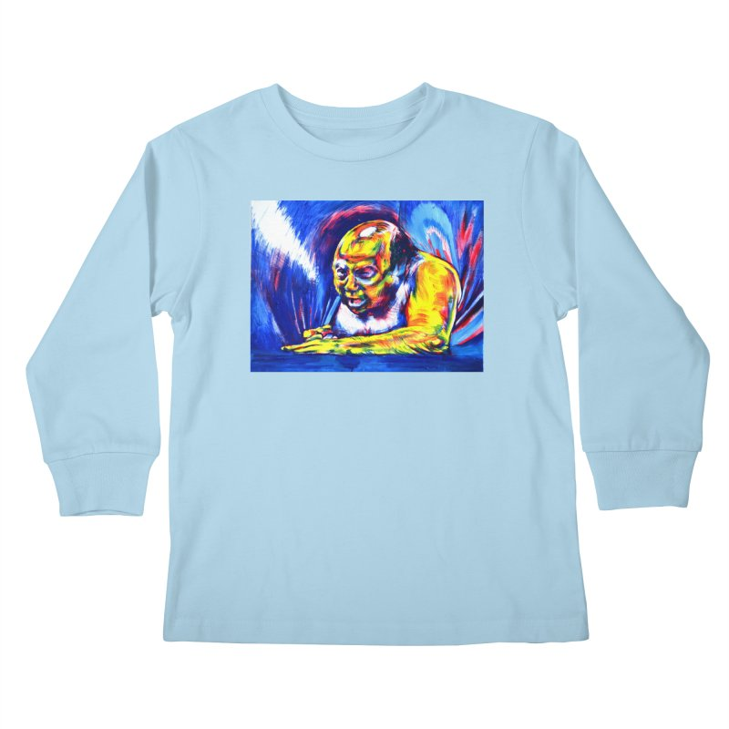 escape Kids Longsleeve T-Shirt by paintings by Seamus Wray