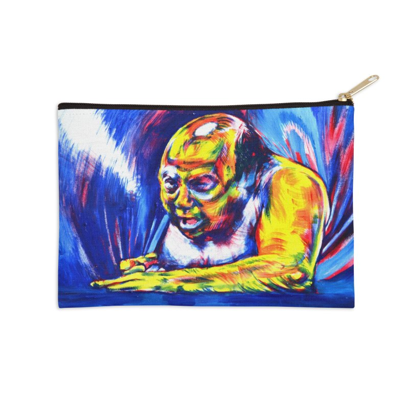 escape Accessories Zip Pouch by paintings by Seamus Wray
