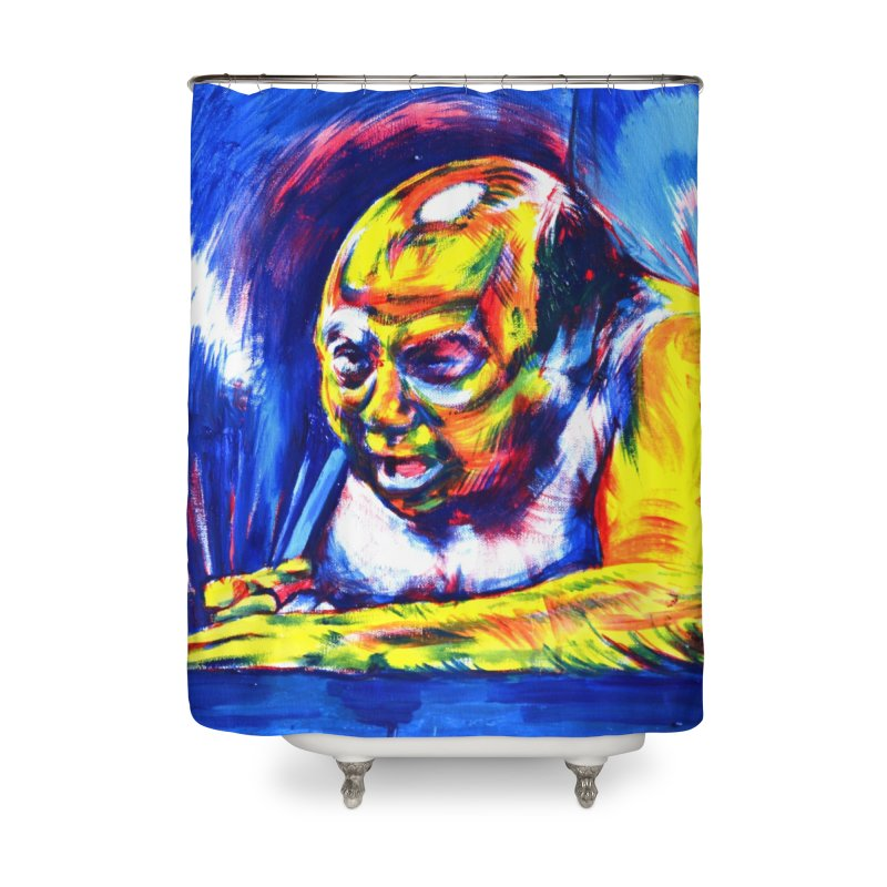 escape Home Shower Curtain by paintings by Seamus Wray