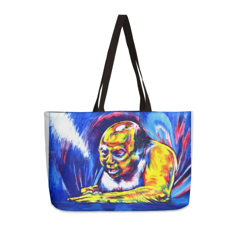 escape Accessories Weekender Bag Bag by paintings by Seamus Wray