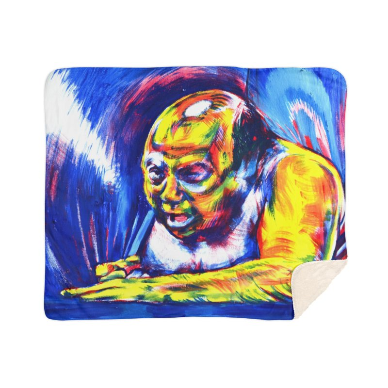 escape Home Sherpa Blanket Blanket by paintings by Seamus Wray