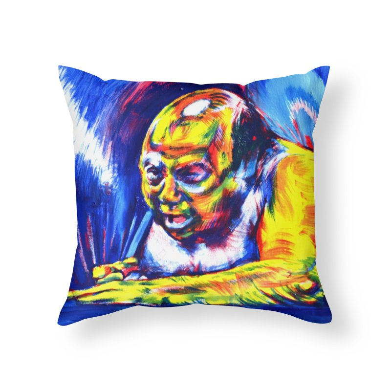 escape Home Throw Pillow by paintings by Seamus Wray