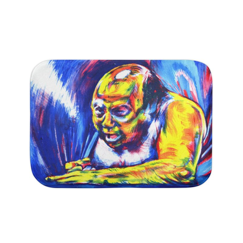 escape Home Bath Mat by paintings by Seamus Wray