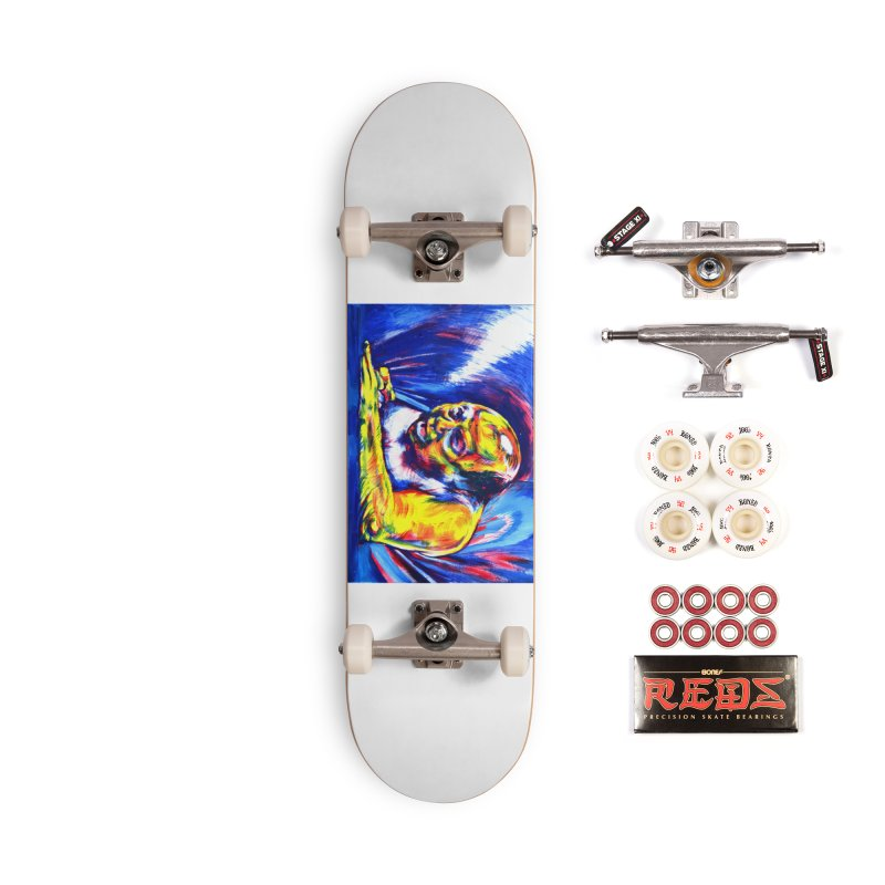 escape Accessories Complete - Pro Skateboard by paintings by Seamus Wray