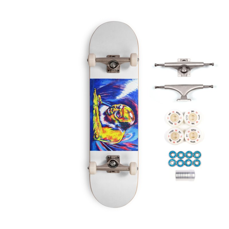 escape Accessories Complete - Premium Skateboard by paintings by Seamus Wray