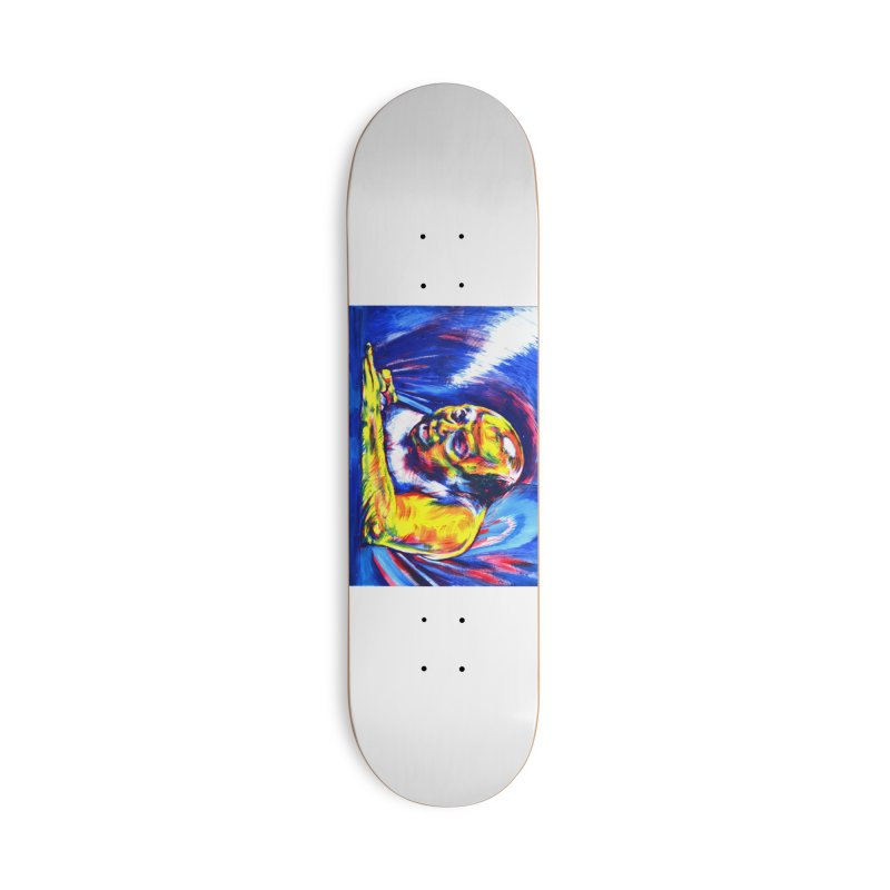 escape Accessories Deck Only Skateboard by paintings by Seamus Wray