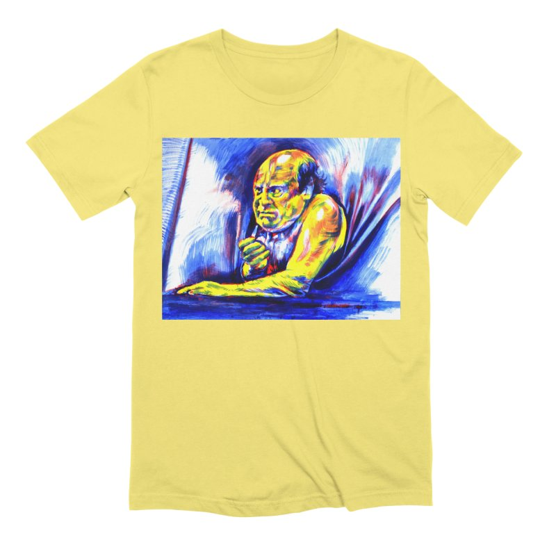 breakout Men's Extra Soft T-Shirt by paintings by Seamus Wray