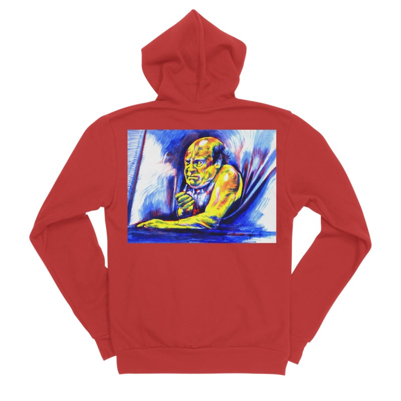 breakout Women's Zip-Up Hoody by paintings by Seamus Wray