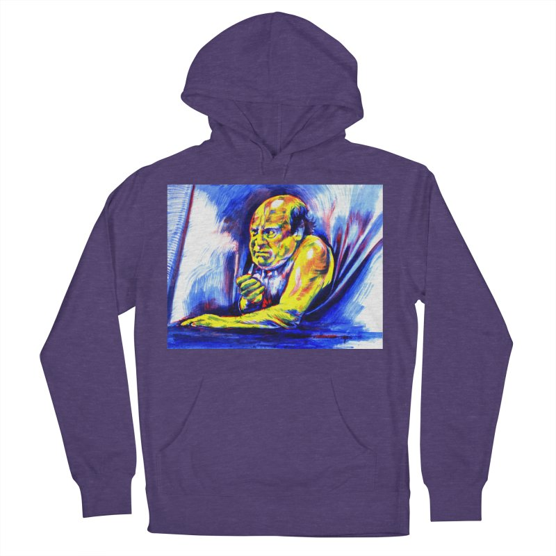 breakout Women's French Terry Pullover Hoody by paintings by Seamus Wray