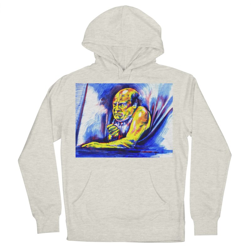 breakout Men's French Terry Pullover Hoody by paintings by Seamus Wray