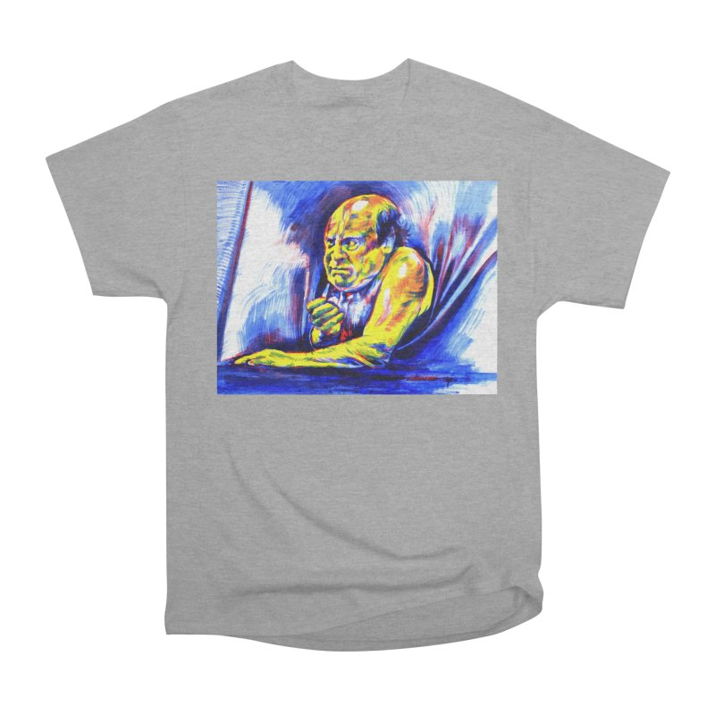 breakout Men's Heavyweight T-Shirt by paintings by Seamus Wray