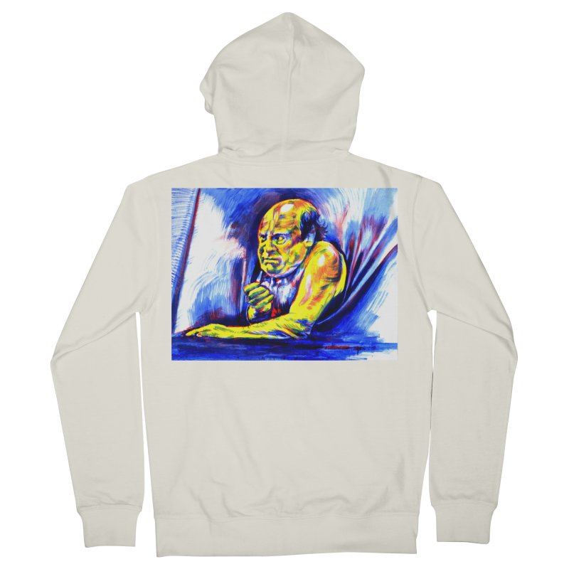 breakout Women's French Terry Zip-Up Hoody by paintings by Seamus Wray