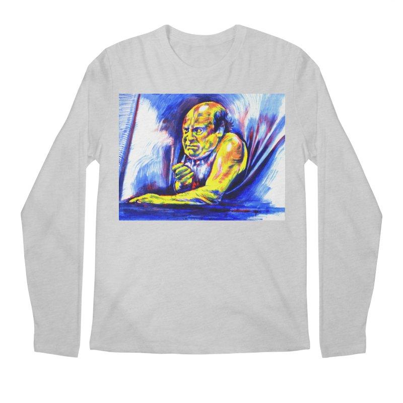 breakout Men's Regular Longsleeve T-Shirt by paintings by Seamus Wray