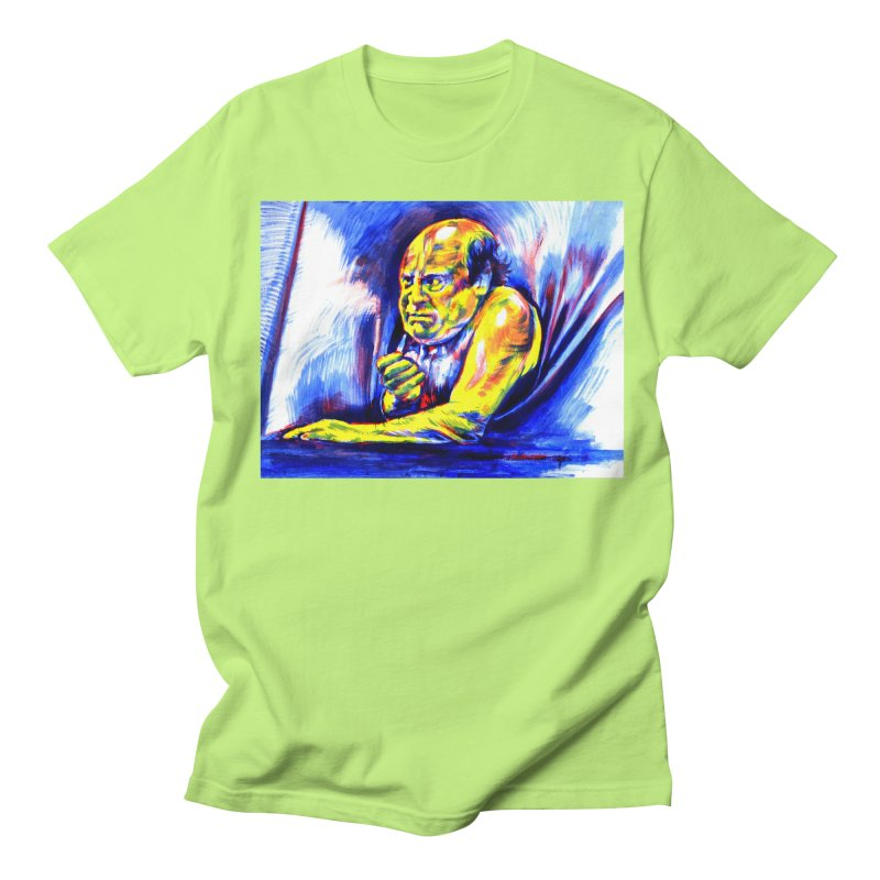 breakout Women's Regular Unisex T-Shirt by paintings by Seamus Wray