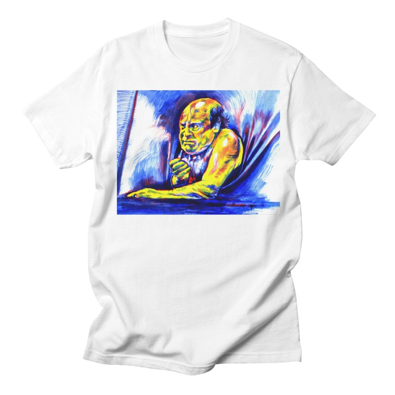 breakout Men's Regular T-Shirt by paintings by Seamus Wray