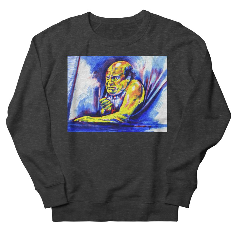 breakout Women's French Terry Sweatshirt by paintings by Seamus Wray