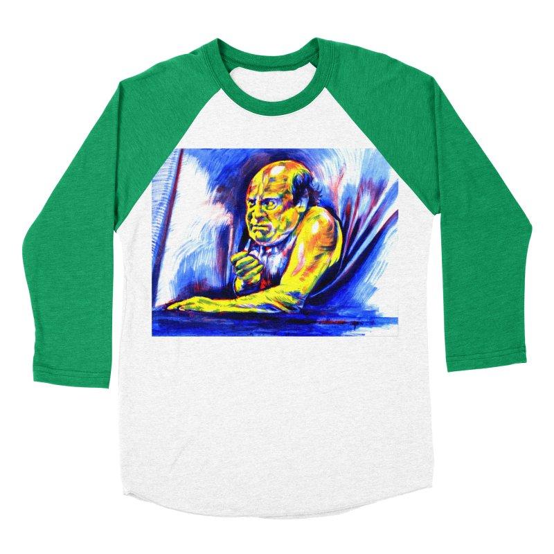 breakout Women's Baseball Triblend Longsleeve T-Shirt by paintings by Seamus Wray