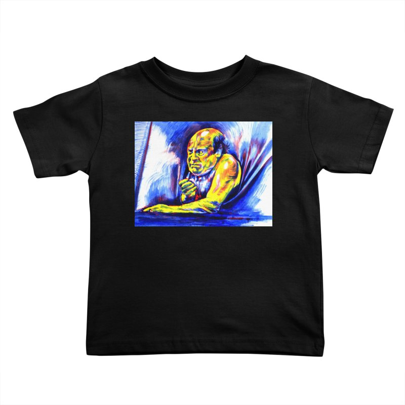 breakout Kids Toddler T-Shirt by paintings by Seamus Wray