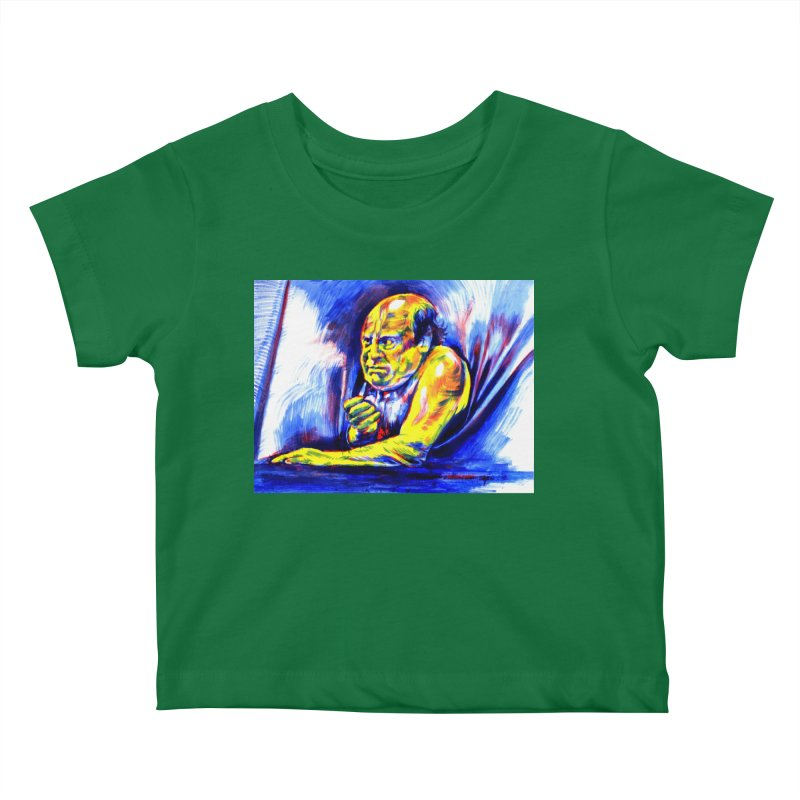 breakout Kids Baby T-Shirt by paintings by Seamus Wray
