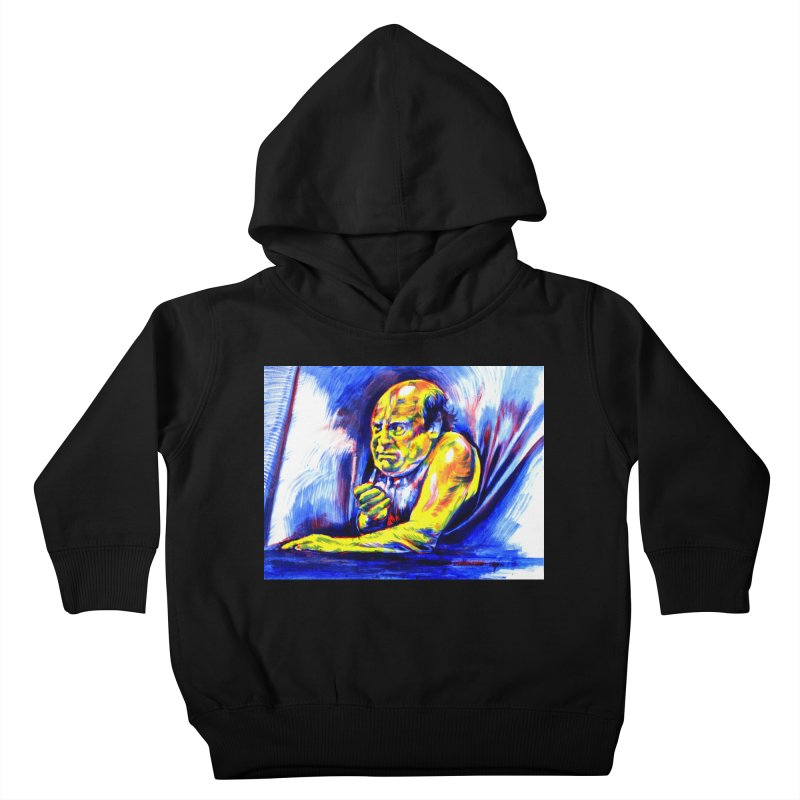 breakout Kids Toddler Pullover Hoody by paintings by Seamus Wray