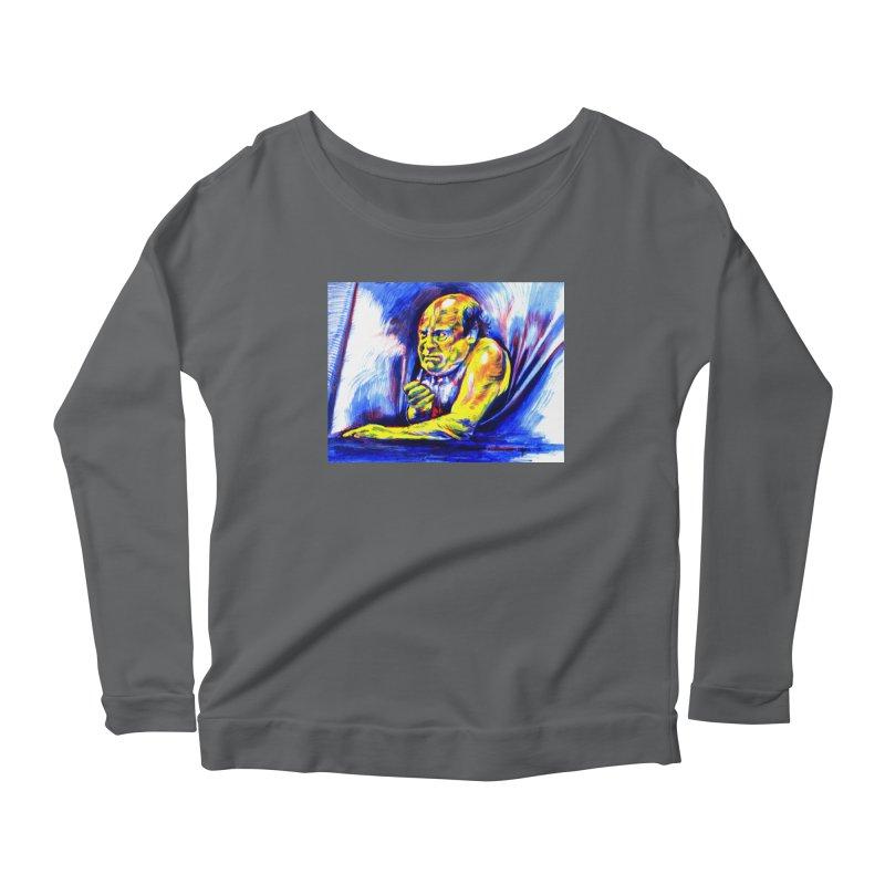 breakout Women's Longsleeve T-Shirt by paintings by Seamus Wray