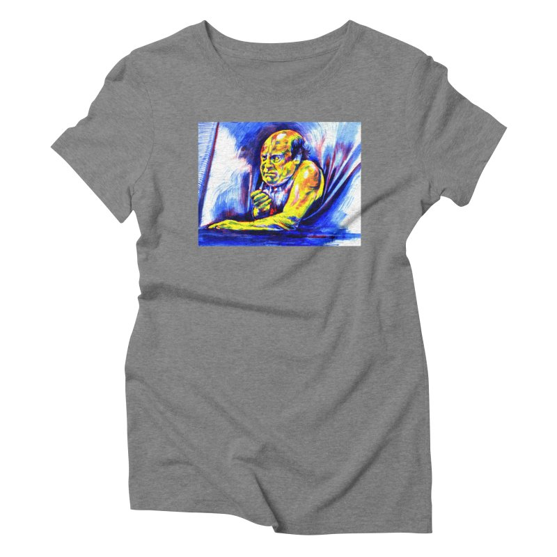 breakout Women's Triblend T-Shirt by paintings by Seamus Wray