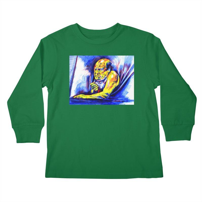 breakout Kids Longsleeve T-Shirt by paintings by Seamus Wray