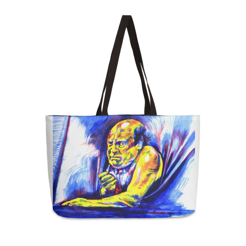 breakout Accessories Weekender Bag Bag by paintings by Seamus Wray