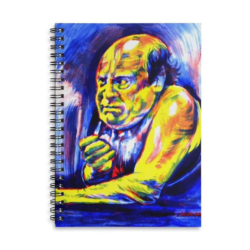 breakout Accessories Lined Spiral Notebook by paintings by Seamus Wray
