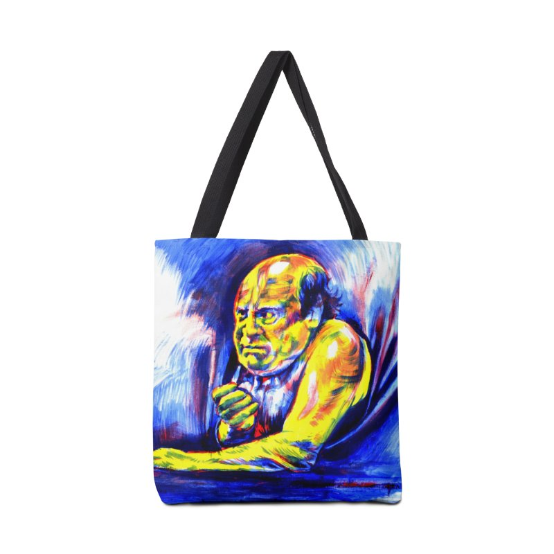 breakout Accessories Tote Bag Bag by paintings by Seamus Wray