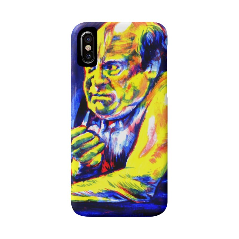 breakout Accessories Phone Case by paintings by Seamus Wray