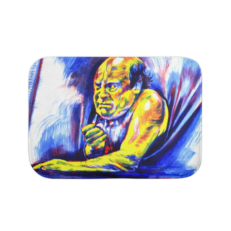 breakout Home Bath Mat by paintings by Seamus Wray