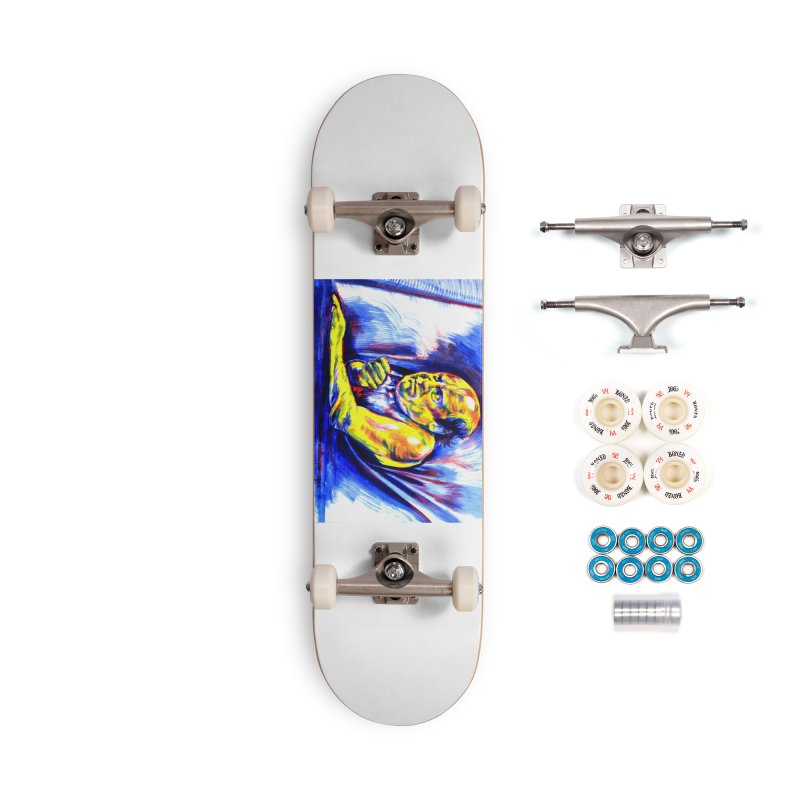 breakout Accessories Complete - Premium Skateboard by paintings by Seamus Wray