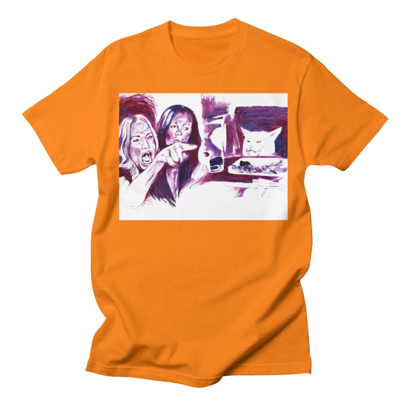 """confused Men's T-Shirt by Art Prints by Seamus Wray available under """"Home"""""""